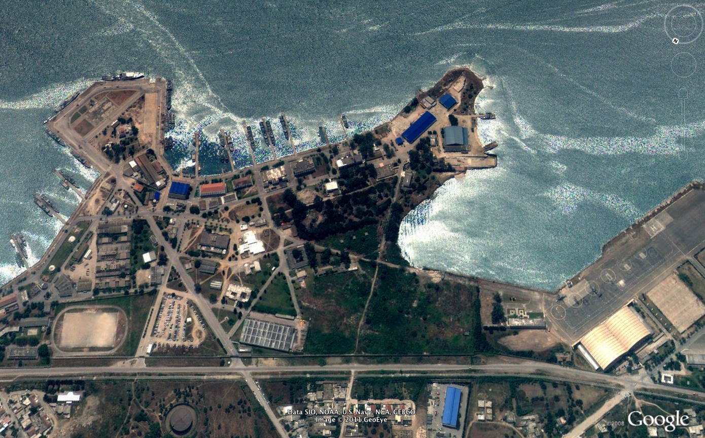 US Naval Base at Bizerte, Tunisia